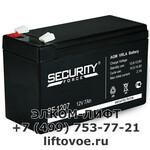 Аккумулятор 12В 7Ач 151х96х65мм SF1207 Security Force