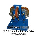 Башмак роликовый 3х125мм полиуретан KAA24180A1 Otis